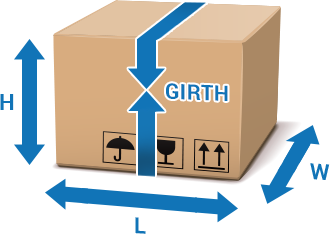 How to calculate length plus girth of your parcel | ParcelHero