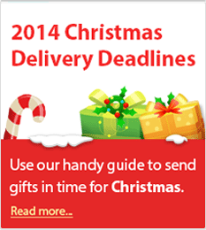 2014 Christmas Parcel Delivery Deadlines